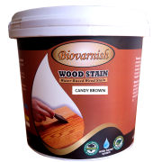 BIOVARNISH WOOD STAIN CANDY BROWN