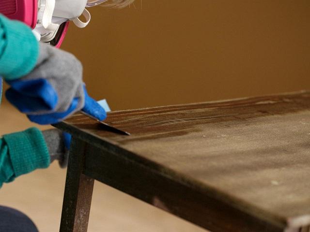 Belajar Cara Memperbaiki dan Mengecat Kabinet Oak yang Terbakar