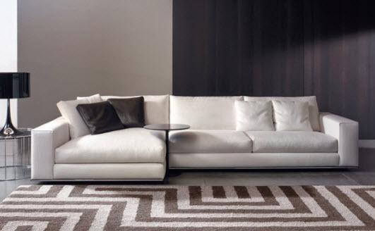 Sofa minimalis modern ruang keluarga