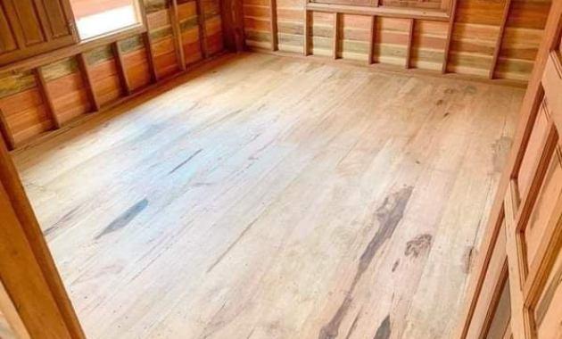 Desain Rumah kayu bergaya modern