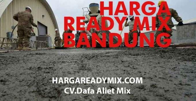 Harga Ready Mix Bandung Murah
