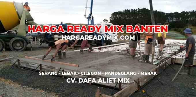 Harga Ready Mix Banten Serang