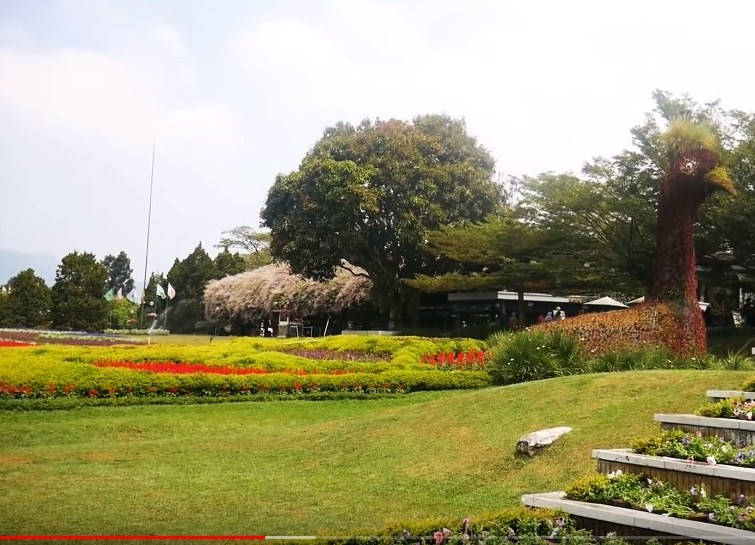 tiket masuk taman bunga