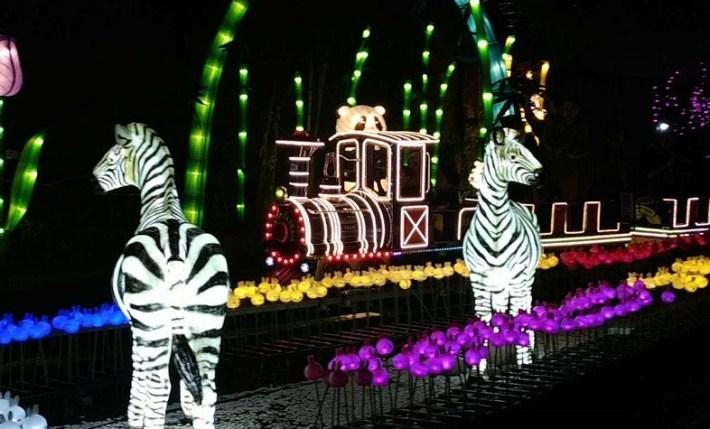 tiket masuk milenial glow garden