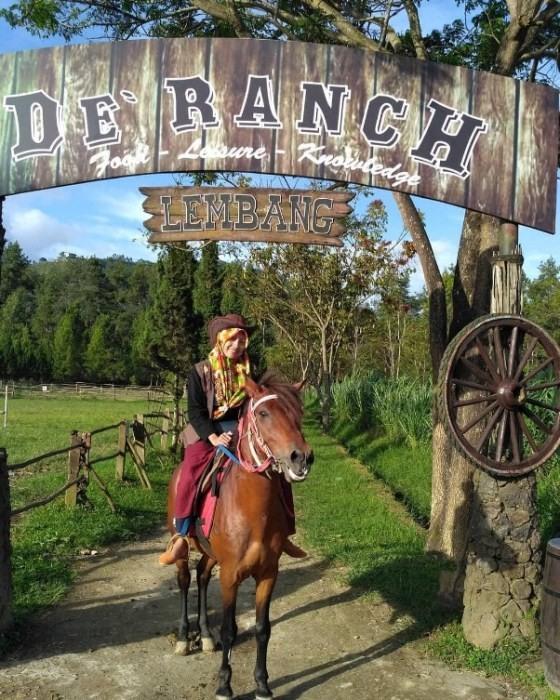 tiket masuk de ranch lembang