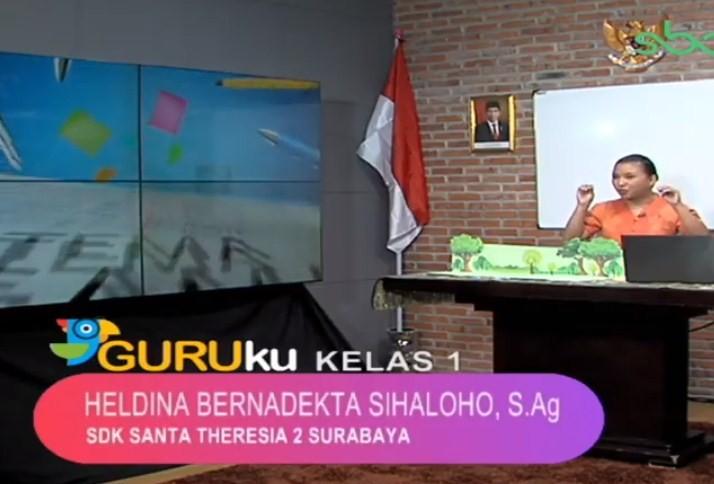 Soal SBO TV 14 Agustus 2020 Kelas 1