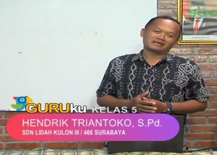 Soal SBO TV 27 Agustus 2020 Kelas 5