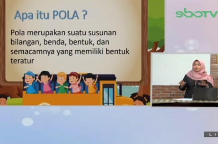 Soal SBO TV 27 Agustus 2020 Kelas 1