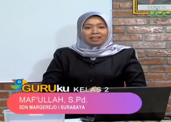 Jawaban Soal SBO TV 7 Agustus 2020 SD Kelas 2