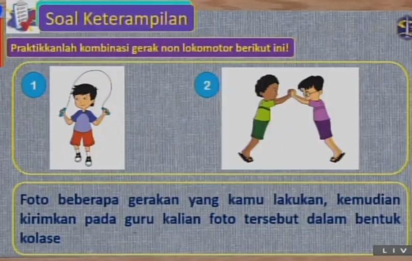 Soal dan Jawaban SBO TV 27 Agustus SD Kelas 3