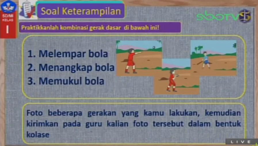 Soal dan Jawaban SBO TV 12 Agustus SD Kelas 5