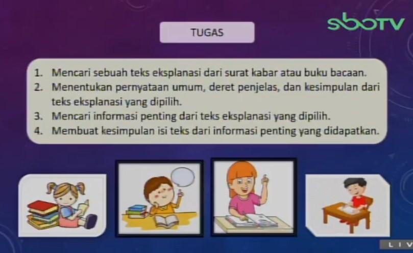 Soal dan Jawaban SBO TV 31 Agustus SD Kelas 6