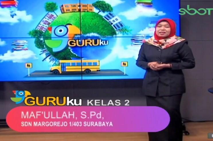 Soal SBO TV 21 September 2020 Kelas 2