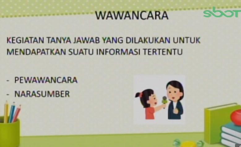 Soal dan Jawaban SBO TV 14 September SD Kelas 4