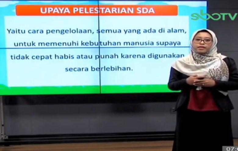 Soal SBO TV 24 September 2020 Kelas 4