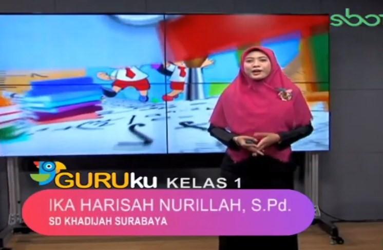 Soal SBO TV 24 September 2020 Kelas 1