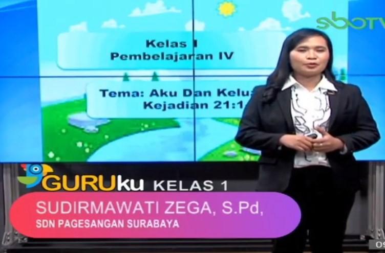 Soal SBO TV 29 September 2020 Kelas 1