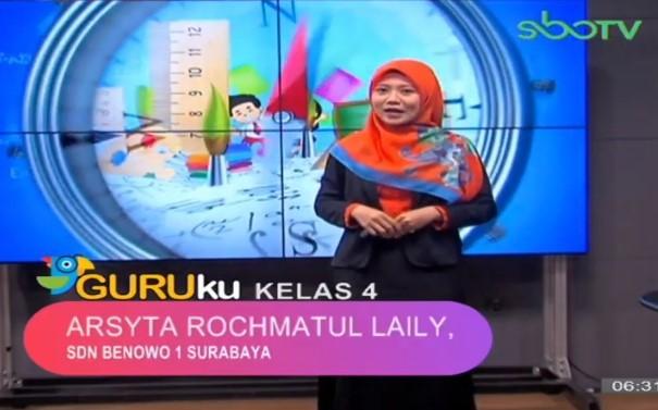 Soal SBO TV 18 September 2020 Kelas 4
