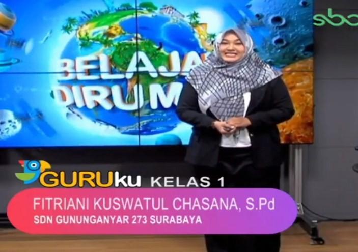 Soal SBO TV 16 September 2020 Kelas 1