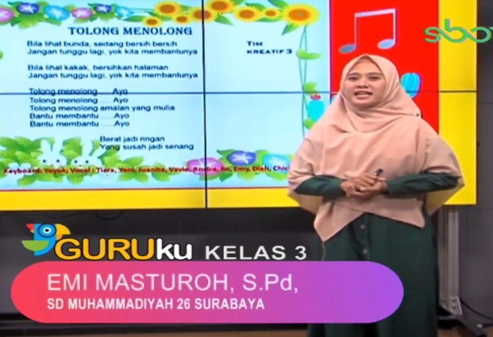 Soal SBO TV 15 September 2020 Kelas 3