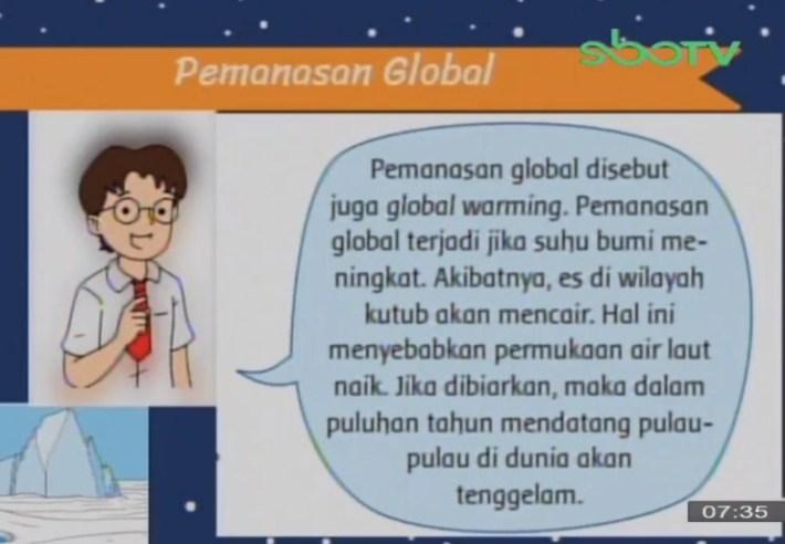 Soal dan Jawaban SBO TV 7 Oktober SD Kelas 3