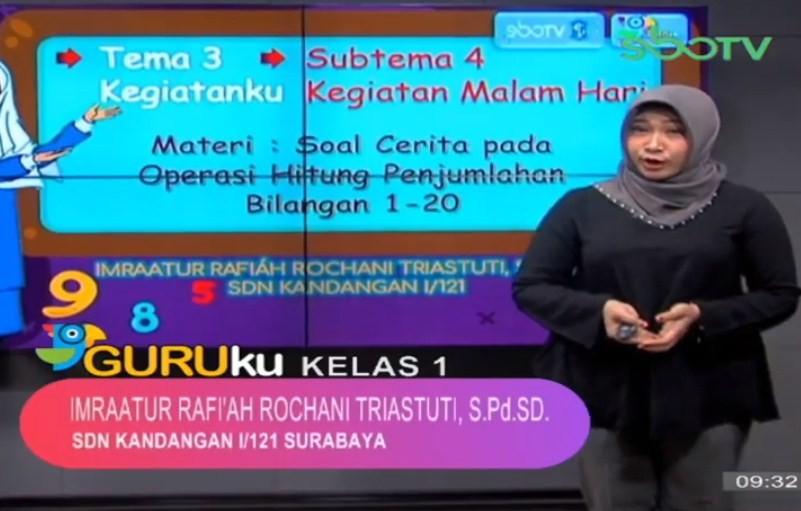 Soal SBO TV 15 Oktober 2020 Kelas 1