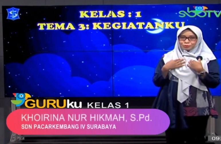 Soal SBO TV 13 Oktober 2020 Kelas 1