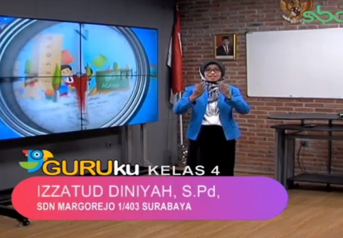 Soal SBO TV 22 Oktober 2020 Kelas 4