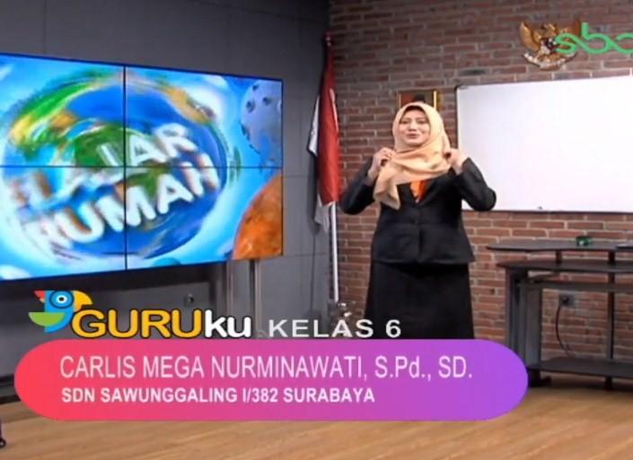 Soal SBO TV 20 Oktober 2020 Kelas 6