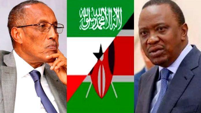 Muuse Biixi iyo Uhuru Kenyatta