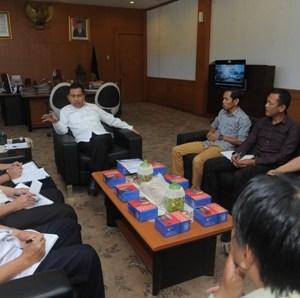Wagub Menerima Pimpinan Wilayah Pemuda Muhammadiyah Sumsel