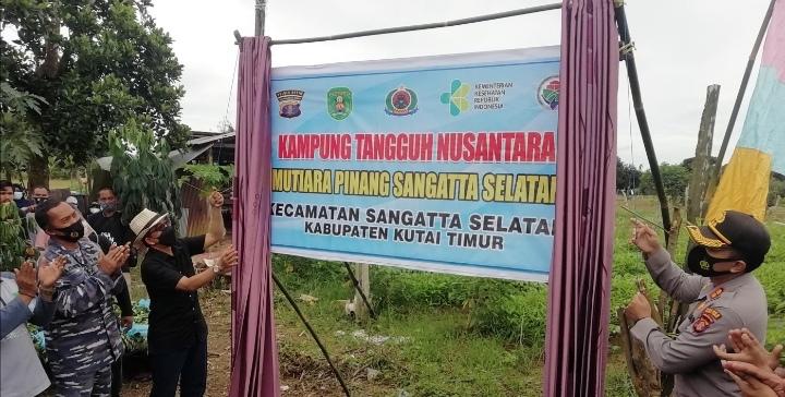 "Jadi Kampung Tangguh ""Mutiara Pinang Sangatta Selatan"" - Mandiri Penuhi Ekonomi Keluarga"