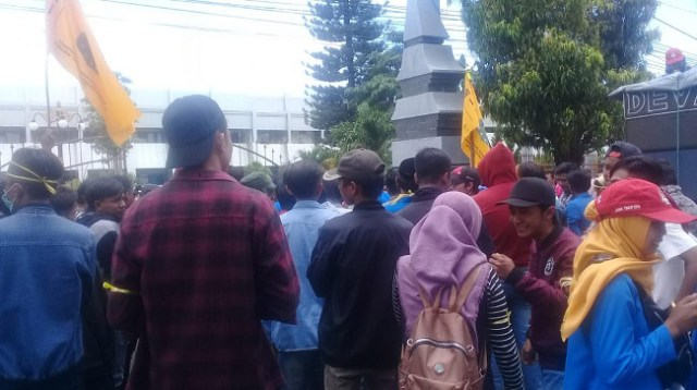 PMII Situbondo Kembali Demo Terkait Dugaan Korupsi DBHCT