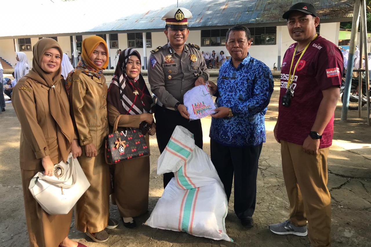 Ditlantas Sulawesi Barat Distribusikan Kupon Dorprize MRSF 2019