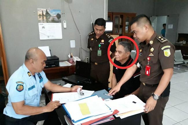 Buronan Korupsi Pengajuan Kredit BPD Cabang Curup Menyerahkan Diri