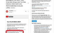 Youtube Hapus Video Napi Pesta Narkoba Diduga Atas Permintaan Lapas Cipinang