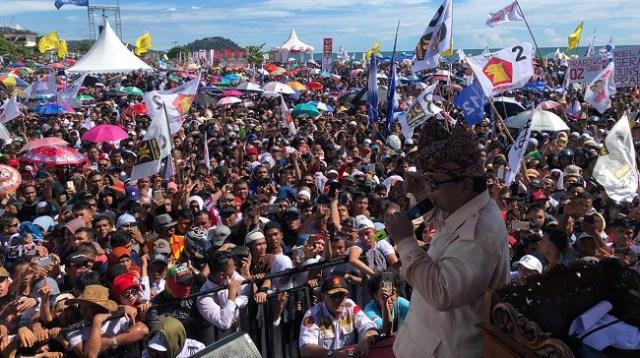 Prabowo: Maaf Saya Tidak Memberi Amplop, Saya Beri Jiwa dan Raga