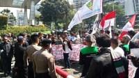 Aksi Bela Rakyat Gorontalo Utara Datangi Kantor PT Toba Bara Sejahtera Tbk