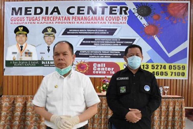 Bupati Kapuas Ingatkan Tugas Wartawan Untuk Mengedukasi Masyarakat