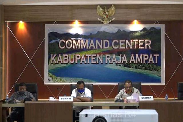 Bupati Raja Ampat Minta Warga Yang di PHK BLUD Provinsi Papua Barat Segera Diselesaikan