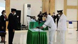 Abdul Faris Umlati Resmi Jabat Bupati Raja Ampat Periode 2