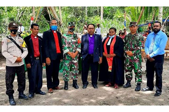 GKI di Tanah Papua Klasis Raja Ampat Selatan Gelar Ibadah Pantai