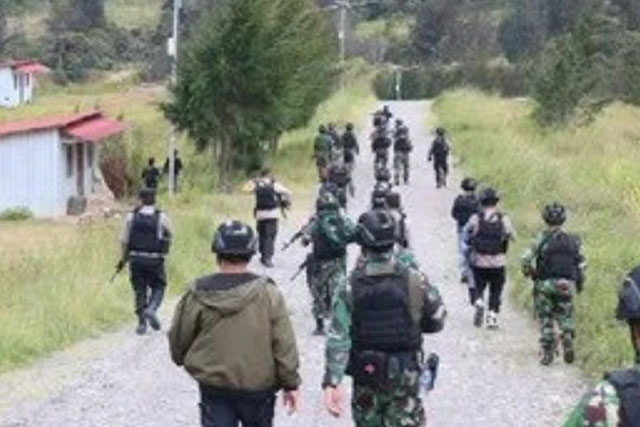 Senjata Andalan OPM; Jadikan Masyarakat Tameng Hidup dan Penguasaan Medan