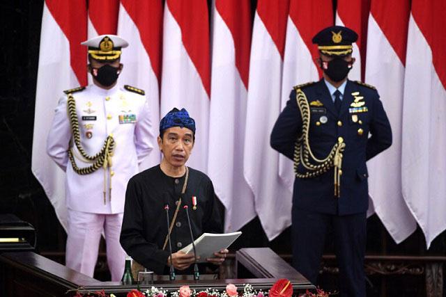 Pidato Tahunan Jokowi Sebut Hikmah Pandemi Covid-19