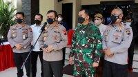 Polda Jateng Bersama Kodam IV Siapkan Strategi Antisipasi Gelombang Tiga Covid