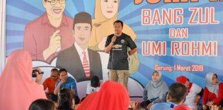 Dihadapan masyarakan Lombok Barat, Gubernur paparkan NTB Gemilang salah satunya program Zero Waste (istimewa)