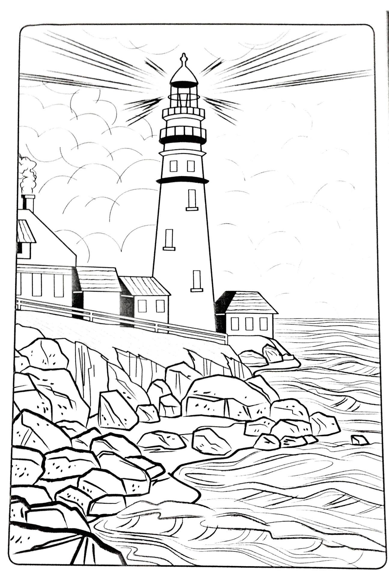 Mewarnai Sketsa Gambar Pemandangan Bawah Laut Terbaru