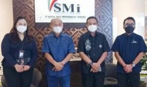 Bupati Pohuwato di dampingi Sekda Melakukan Koordinasi ke PT SMI Guna Mempertanyakan Penyaluran Pinjaman Dana PEN Daerah (humas