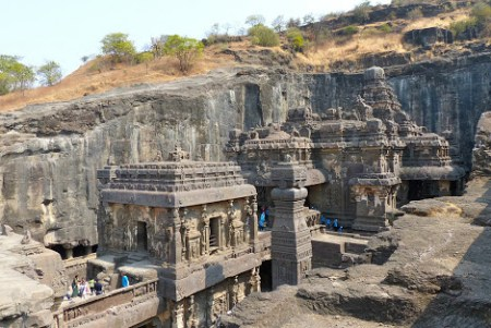 Shiv Mandir - Kailash temple at ajanta ellora