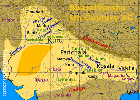 Vedic Bharat India in 3 BCE